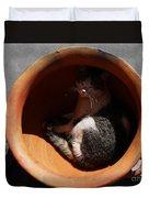 Siesta 1 Duvet Cover by Xueling Zou