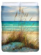 Siesta Key Beach Dunes  Duvet Cover