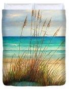 Siesta Key Beach Dunes  Duvet Cover