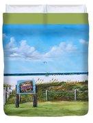 Siesta Key Public Beach Duvet Cover