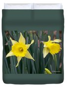Sign Of Spring Duvet Cover