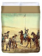 Signaling The Main Command 1885 Duvet Cover