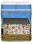 Signs Of The Time Duvet Cover