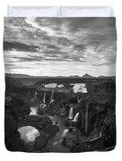 Sigoldufoss Waterfalls Iceland 1291 Duvet Cover