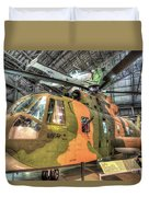 Sikorsky Hh-3 Jolly Green Giant Duvet Cover