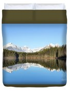 Silence Of North Duvet Cover