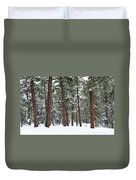 Silence Of The Woods Duvet Cover