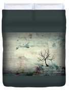 Silence To Chaos - 5502c3 Duvet Cover
