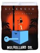 Silencio Duvet Cover