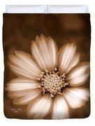 Silent Petals Duvet Cover