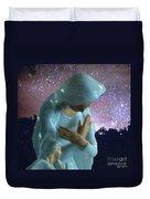 Silent Prayer Duvet Cover