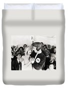 Silent Still: College Duvet Cover