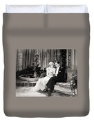 Silent Still: Couples Duvet Cover