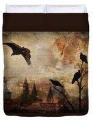 Silent Watchers Duvet Cover