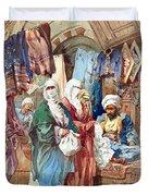 Silk Bazaar Duvet Cover