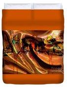 Silk Folds Duvet Cover