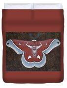 Silk Moth Duvet Cover