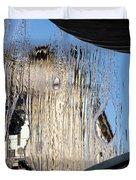 Silken Fountain Curtain -  Duvet Cover