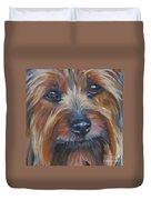Silky Terrier Duvet Cover