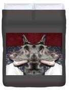 Silly Dog Duvet Cover