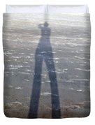 Silly Silhouette  Duvet Cover