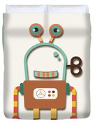 Silly Wind-up Toy Duvet Cover