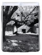 Silo In Black And White Duvet Cover