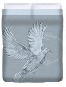 Silver Dove Duvet Cover