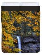 Silver Falls State Park Oregon Duvet Cover