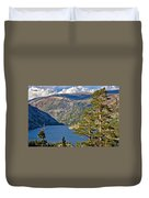 Silver Lake Pines Duvet Cover