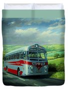 Silver Star Leyland Coach Duvet Cover