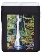 Silver Thread Falls Duvet Cover