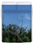 Silver Tree Duvet Cover