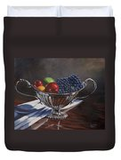 Silvered Fruit Duvet Cover