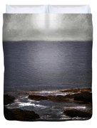 Silvered Sea Duvet Cover