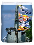 Silversides Flags Duvet Cover