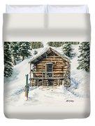 Silvertip Lodge Duvet Cover