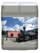 Silverton Durango Steam Train - Silverton Colorado Duvet Cover