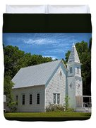 Simple Country Church Duvet Cover