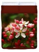 Simple Savory Spring Duvet Cover