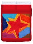 Simple Star-straight Edge Duvet Cover