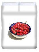 Simply A Bowl Of Cherries Duvet Cover