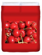 Simply Cherries  Duvet Cover