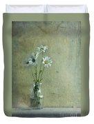 Simply Daisies Duvet Cover by Priska Wettstein