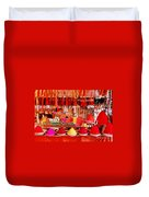 Simply Red Duvet Cover
