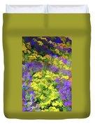 Simply Soft Colorful Garden Duvet Cover
