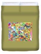 Simultaneous Dimensions #2 Duvet Cover