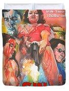 Sin By Murder Poster B Duvet Cover