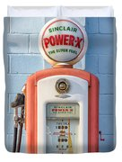 Sinclair Power-x Gas Pump Duvet Cover