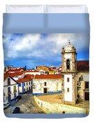 Sines Portugal Duvet Cover